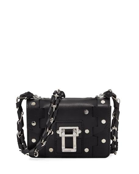 Proenza Schouler Hava Chain Leather Crossbody Bag, Black