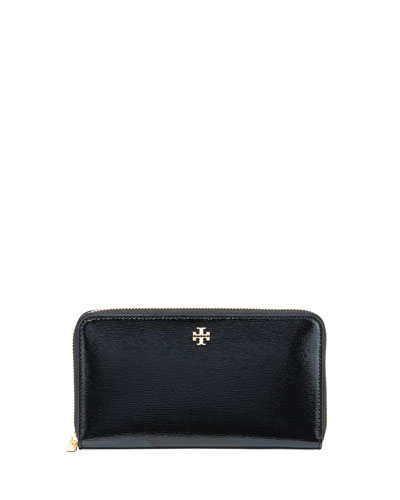 Robinson Patent Leather Zip-Around Continental Wallet