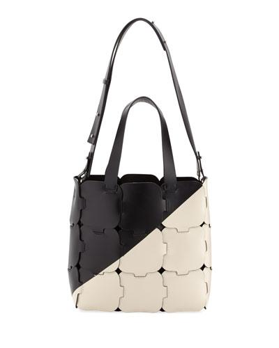 16#01 Patchwork Cabas Medium Hobo Bag