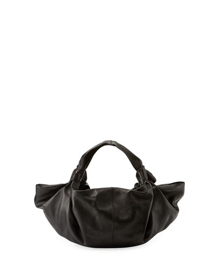 THE ROW The Ascot Small Leather Handbag