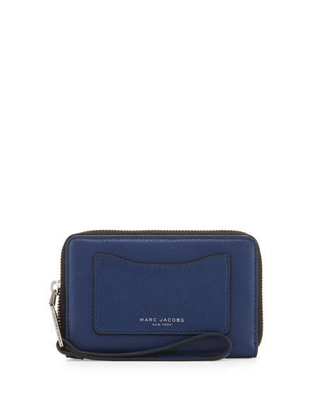Marc Jacobs Recruit Zip-Around Phone Wristlet Wallet