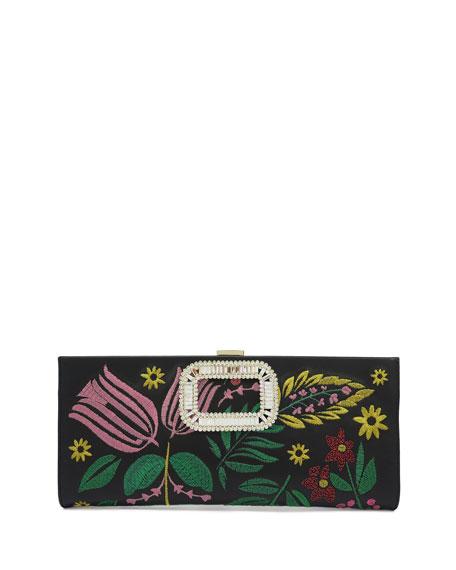 Pilgrim Small Flowers Clutch Bag