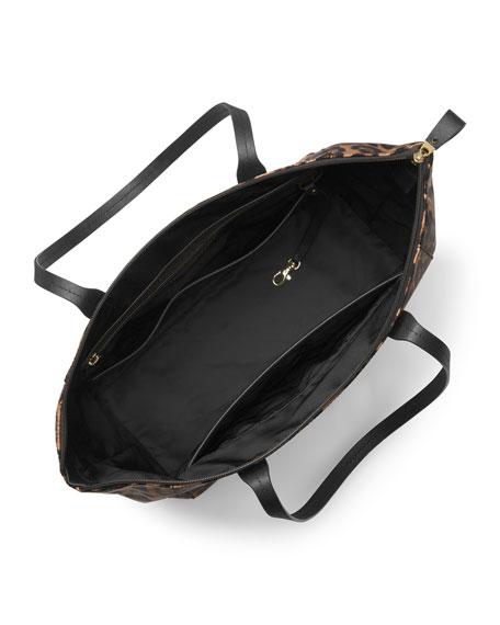 9e53a0d70 MICHAEL Michael Kors Kelsey Large Nylon Tote Bag, Butterscotch | Neiman  Marcus