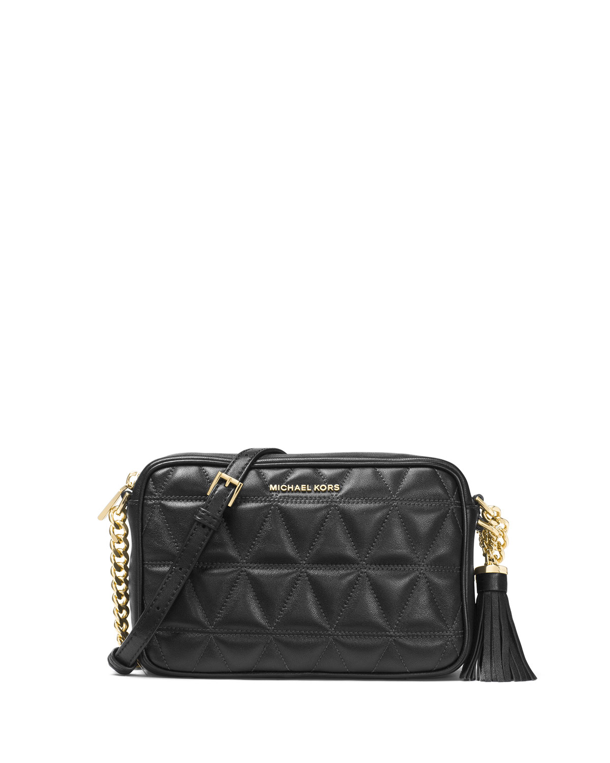 5ceef1ad5ed0 MICHAEL Michael Kors Ginny Medium Quilted Camera Bag