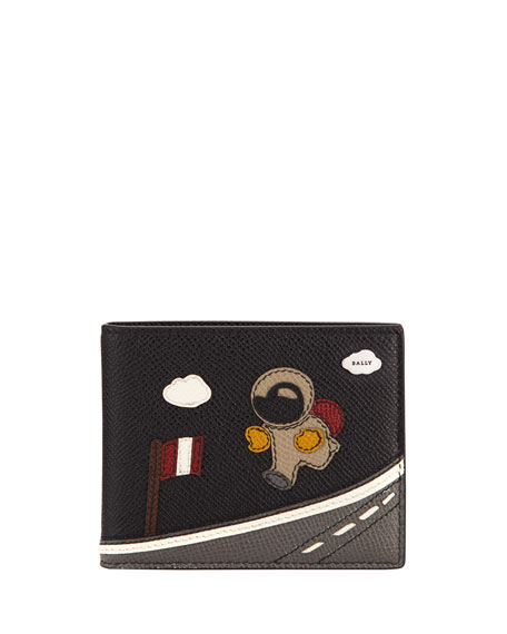 Bally Bevye Leather Space Wallet