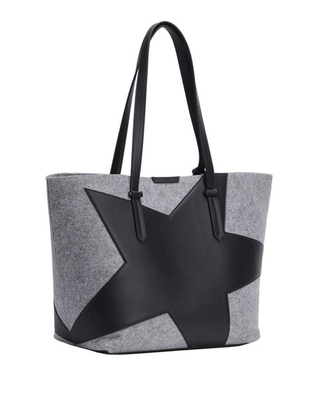 Izzy Star Flannel Tote Bag
