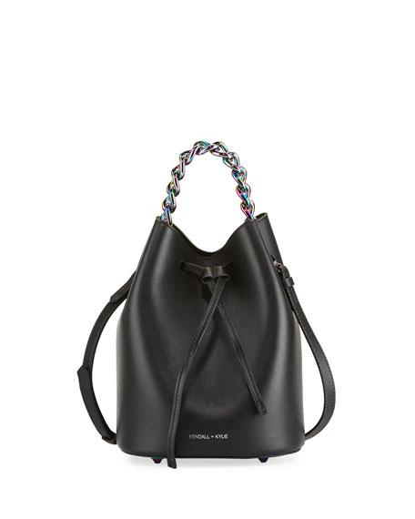 Kendall + Kylie Ladie Mini Leather Bucket Bag