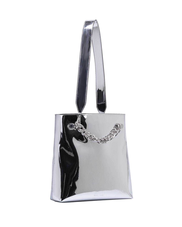 Kendall + Kylie Silver shoulder bag 4cUUFSd