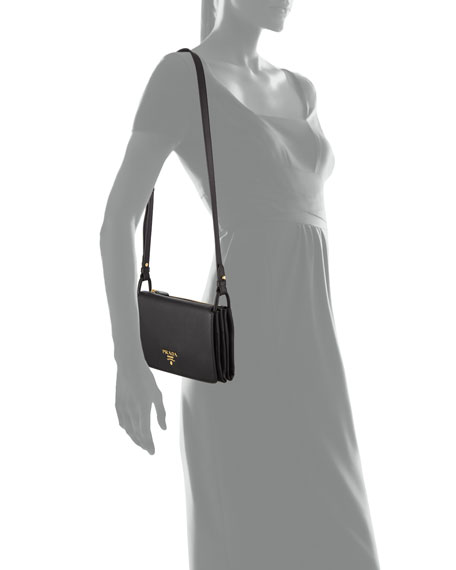 Vitello Daino Small Flap Bag