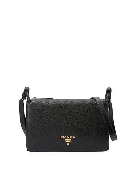 Prada Vitello Daino Small Flap Bag