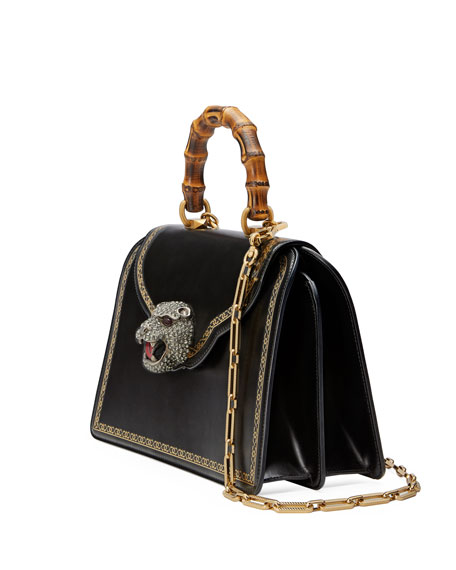 Gatto Medium Top-Handle Bag