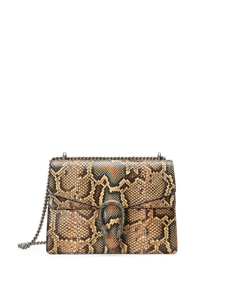 Medium Dionysus Python Chain Shoulder Bag