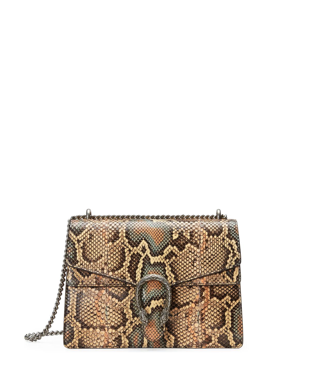 2be3f0ee2706 Gucci Dionysus Medium Python Shoulder Bag