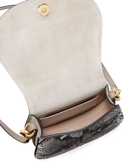Nile Small Python Bracelet Crossbody Bag