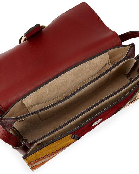 Faye Small Patchwork Shoulder Bag