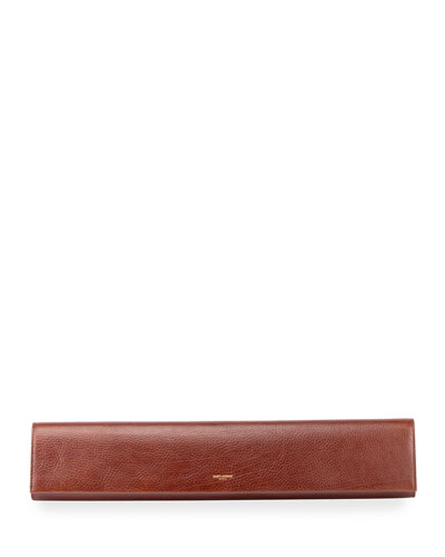 Fetiche Exaggerated East West Flap Clutch Bag