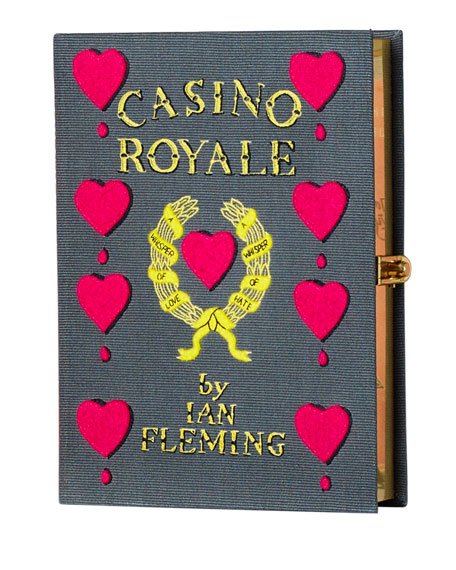 Olympia Le-Tan Casino Royale Book Clutch Bag