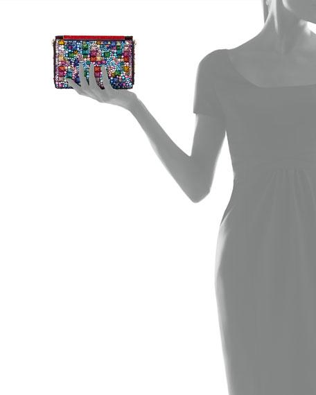 Vanite Small Beaded Clutch Bag