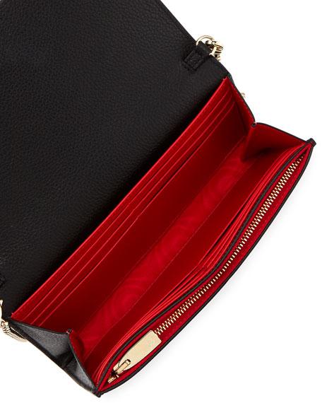 Boudoir Piste aux Etoiles Beaded Wallet on Chain