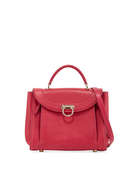 Salvatore Ferragamo Small Rainbow Top Handle Bag