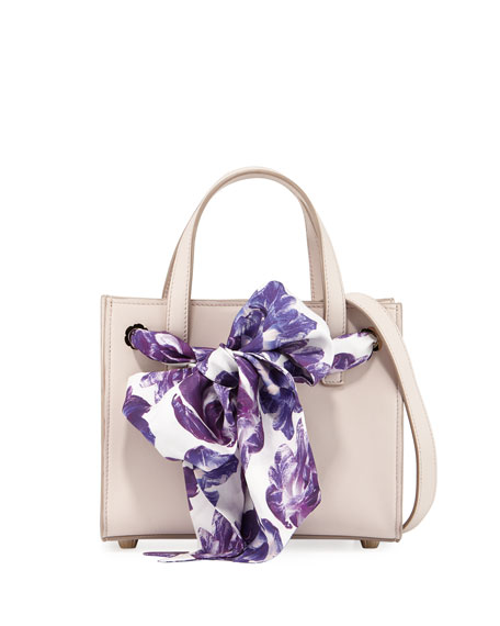 Salvatore Ferragamo Small Foulard Tote Bag
