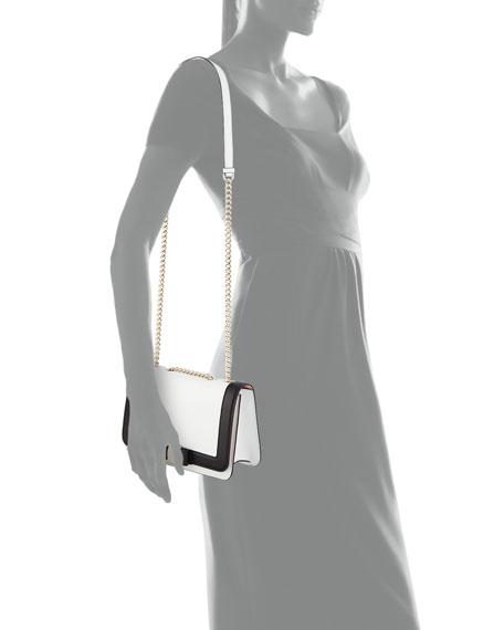 Medium Vara Two-Tone Shoulder Bag