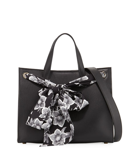 Salvatore Ferragamo Medium Foulard Tote Bag