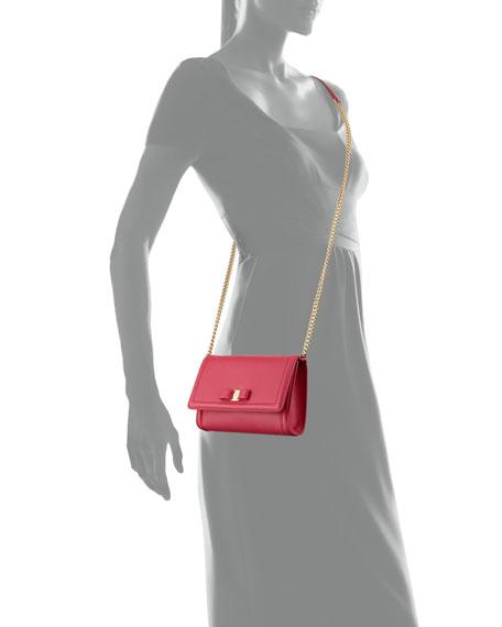 Mini Crossbody Clutch Bag, Red