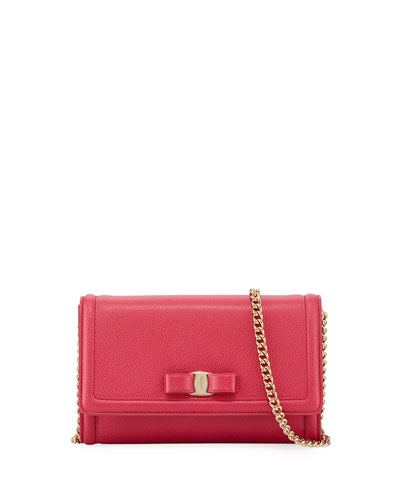 Mini Crossbody Clutch Bag, Red