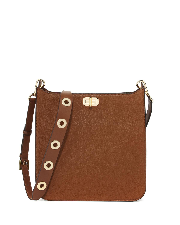 bed66767b9c6 MICHAEL Michael Kors Sullivan Large Leather Messenger Bag