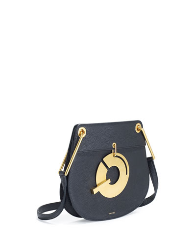Handcuff Small Leather Shoulder Bag