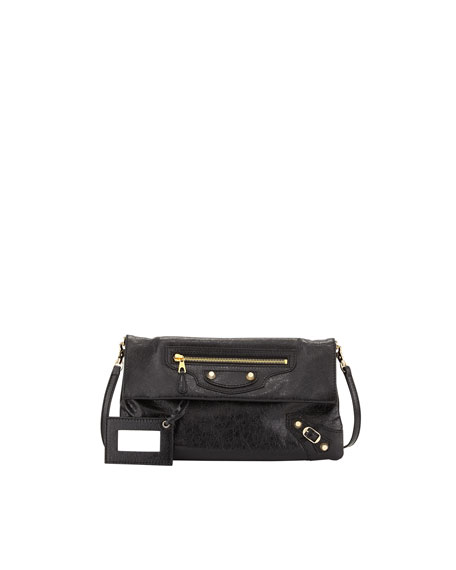 Balenciaga Envelope Clutch With Strap