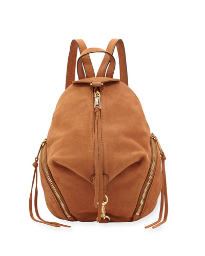 Rebecca Minkoff Julian Medium Leather Backpack
