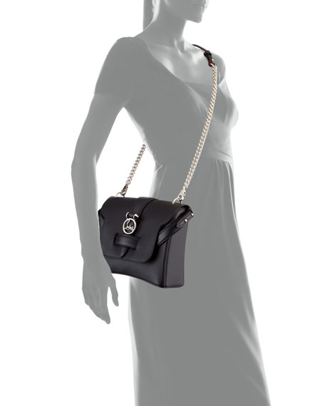 Rubylou Small Calf Leather Shoulder Bag