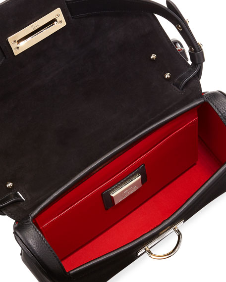 Rubylou Piste aux Etoiles Small Calf Leather Shoulder Bag