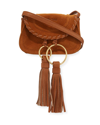 Polly Mini Suede Crossbody Bag