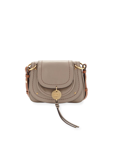 See by Chloe Small Coin Leather Flap Saddle