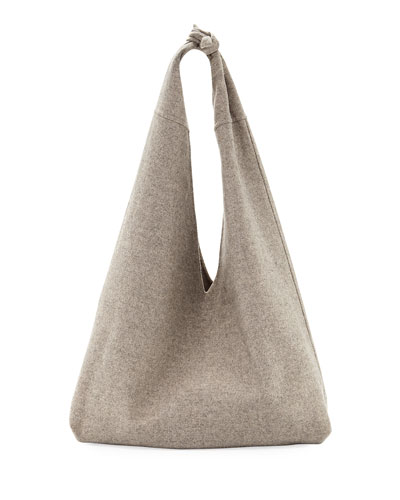 Bindle Cashmere Knotted Handbag