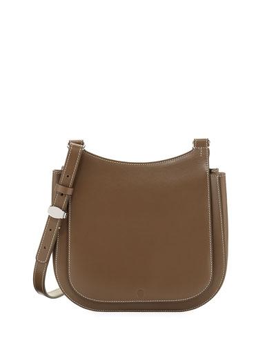Hunting 9 Vegetable Leather Shoulder Bag