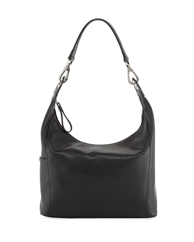 Le Foulonne Small Hobo Bag, Blue