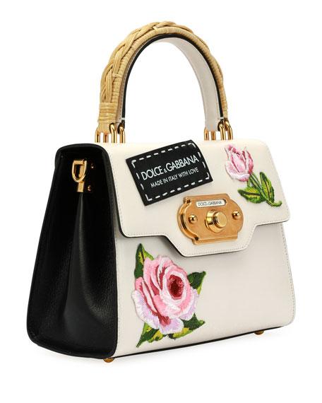 Welcome Medium Vintage Top-Handle Bag
