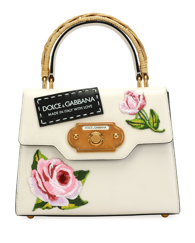 ca90a31b81e0 Dolce   Gabbana Welcome Medium Vintage Top-Handle Bag