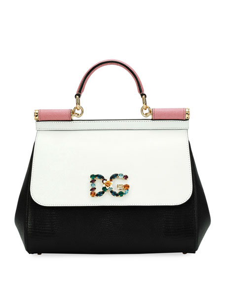 Dolce & Gabbana Sicily Mediterraneo Top-Handle Bag
