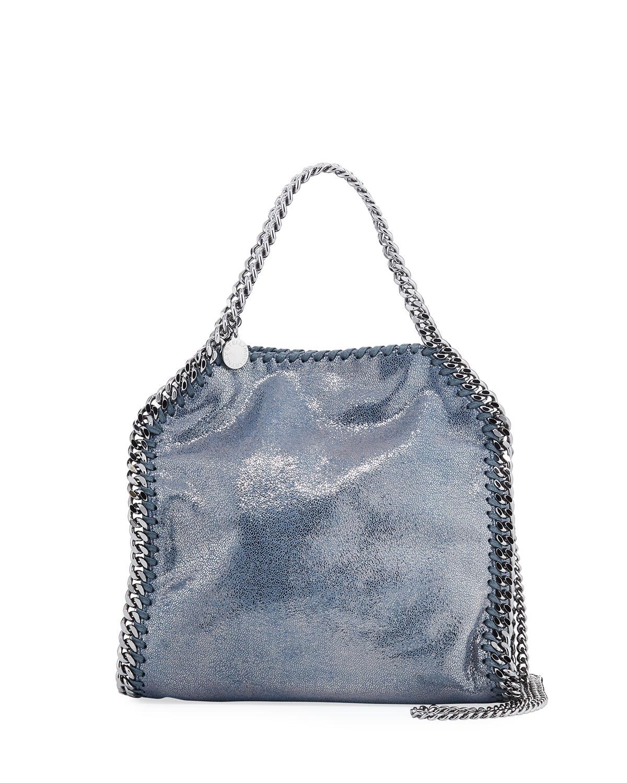 2b43052e8c Stella McCartney Falabella Mini Metallic Shaggy Deer Tote Bag ...