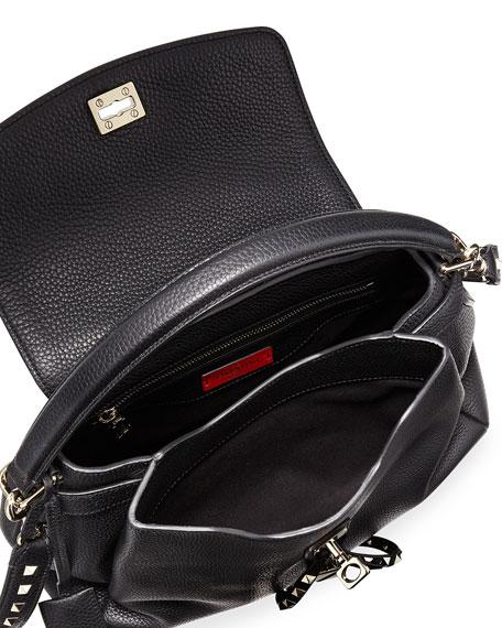 Twiny Single-Handle Rockstud Shoulder Bag