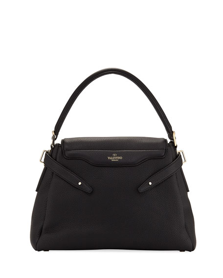 Twiny Single-Handle Rockstud Shoulder Bag
