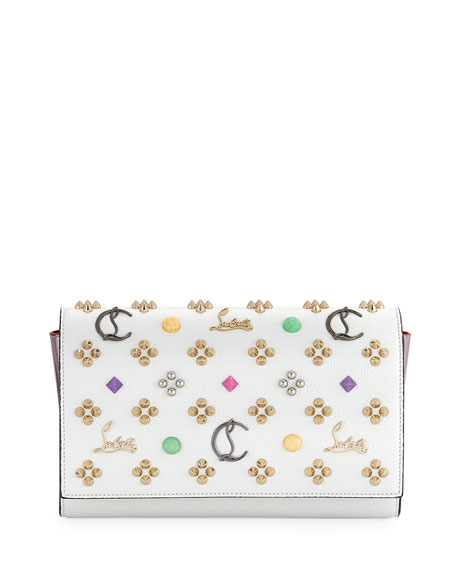 Paloma Emploubinthesky Leather Clutch Bag
