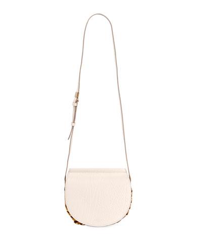 Infinity Mini Leather Saddle Bag