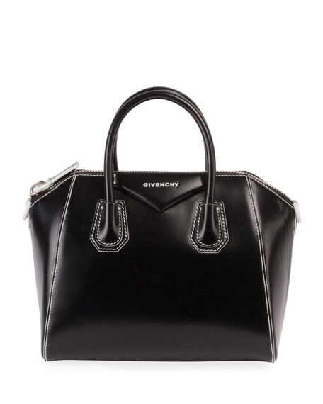 Givenchy Antigona Small Smooth Leather Satchel Bag
