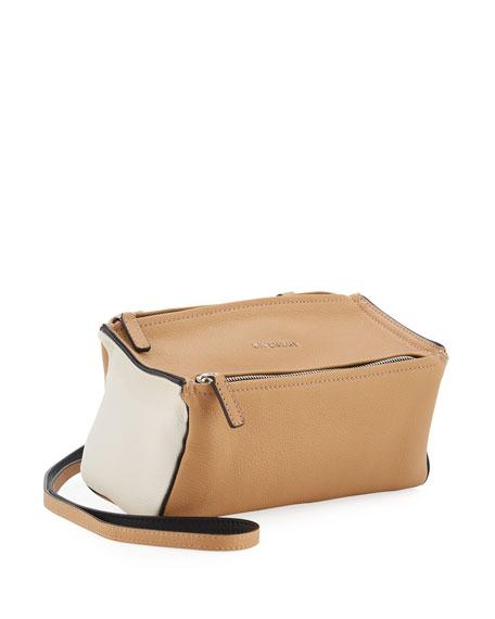Givenchy Pandora Mini Two-Tone Sugar Crossbody Bag